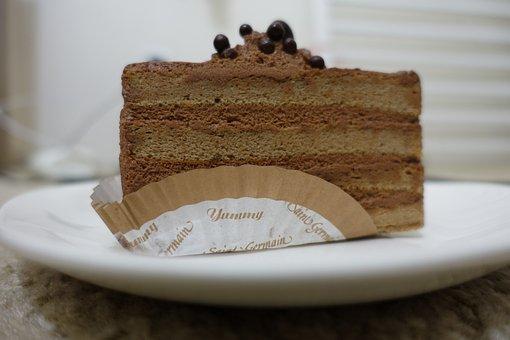 Cake Slice, Cake, Sweet, Dessert, Slice, Food