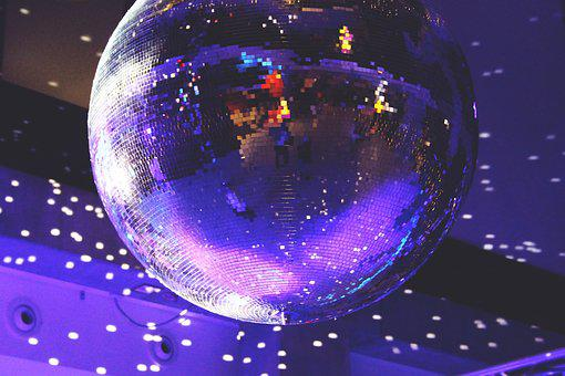 Disco Ball, Lights, Disco, Nightclub, Party, Celebrate