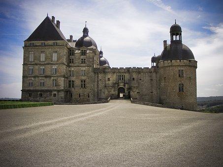 Chateau, Hautefort, Château De Hautefort, Dordogne