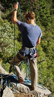 Climbing, Rope, Climb, Sport, Activity, Strength
