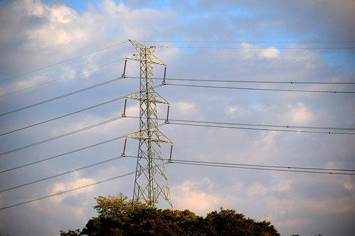 Electricity, Power, Transmission, Towers, High Tension