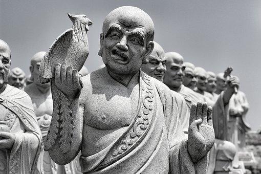 Face, Buddha, Buddhis, Religion, Statue, Asian