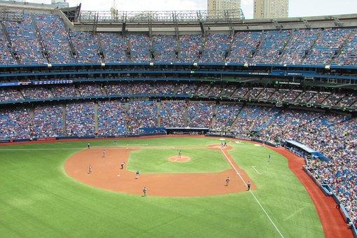 Baseball, Game, Sport, Field