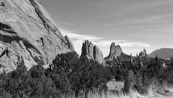 Colorado Springs, Garden Of The Gods, Formation