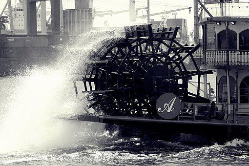 Paddle Wheel, Port Motifs, Harbour Cruise