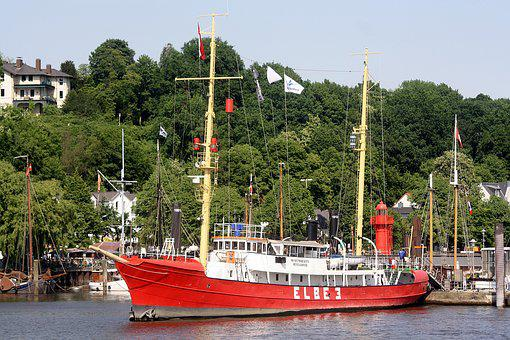 Elbe 3, Lightship, Harbour Museum, Hamburg