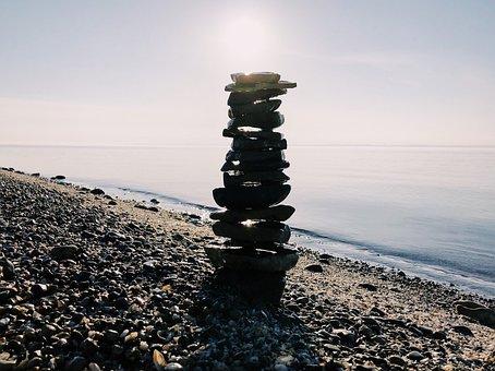 Rock Balance, Stacked, Stack, Zen, Harmony, Rock