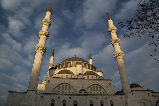 Cami, Minaret, Islam, Religion, Architecture, Masjid