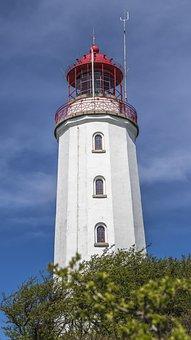 Lighthouse, Hiddensee, Baltic Sea, Rügen, Tower, Island
