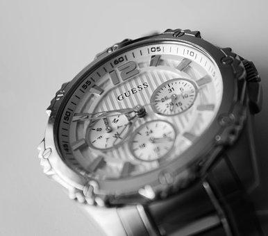 Clock, Metal, Watch, Minute, Time, Hour, Gray Time