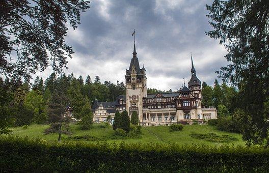 Peles, Castle, Romania, Mihai I, Sinaia, Building