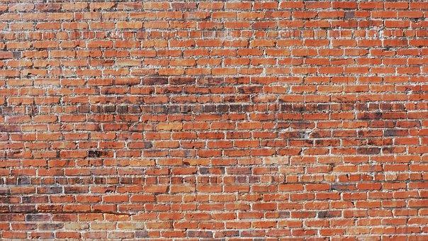 Brick, Wall, Background, Brick Wall Background, Old