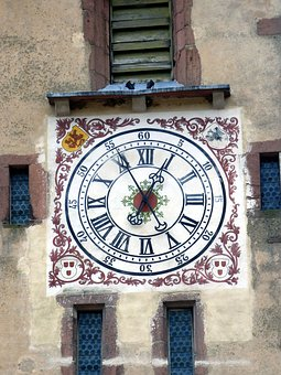 Ribeauvillé, Pendulum, Tower, Time, Points, Heritage