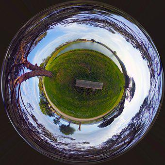 Landscape, Small Planet, Planet Earth, Italy, Planet