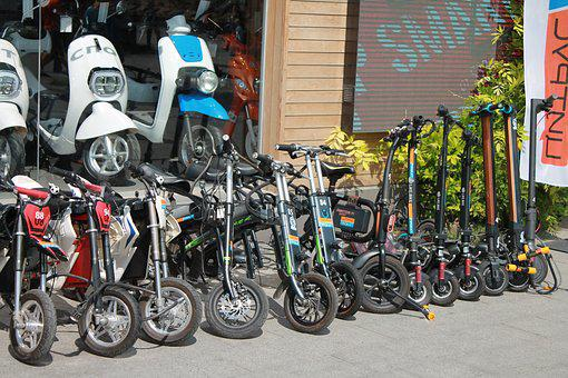 Scooters, Bicycles, Mopeds, Showcase, Rent, Vacation