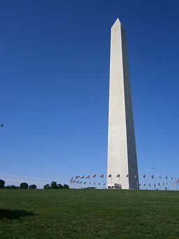 Washington, Monument, Tall, Phallus, Capitol, Hill