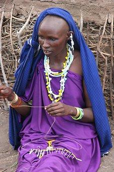 Masai, Woman, Africa, Kenya, Tribe, Ethnic, Tanzania