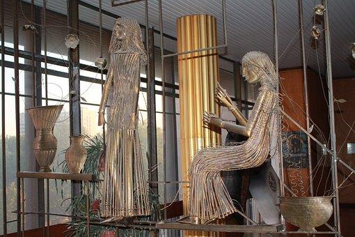 Sculpture, Theatre, Theatre Of Musical Comedy, Ukraine