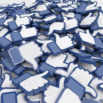 Facebook, Like, Many, Lots, Mountain, Ton, Excess