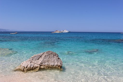 Sardinia, Clear Water, Turquoise Water