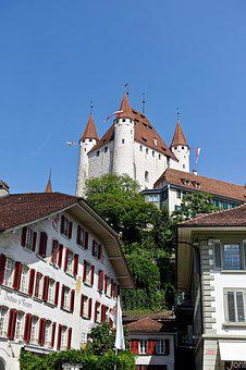Castle, Turrets, Keep, Tower, Medieval, Fortress