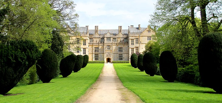 Manor House, Country Estate, Avenue, Architecture