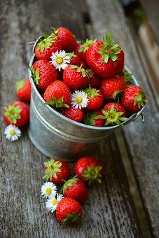 Strawberries, Fruit, Delicious, Food, Eat, Berries