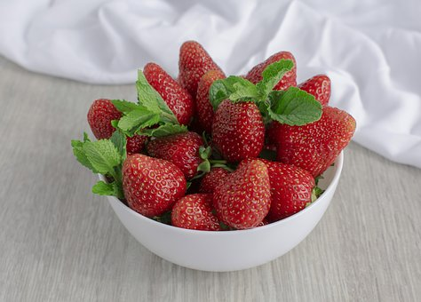 Berry, Strawberry, Red Berries, Garden Strawberry