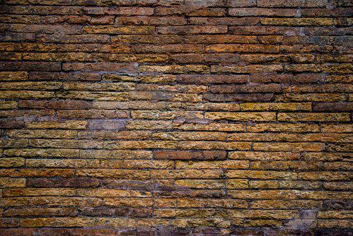 Wall, Brick, Antique, Ancient, Old, Grunge, Texture