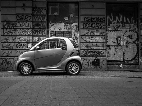Mini Car, Car, Black, Mini, Transport, Vehicle