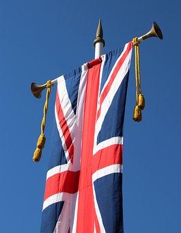 Union Jack, Flag, United Kingdom, Coronation, Queen