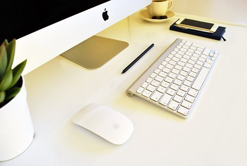 Imac, Iphone, Computer, Mobile, White, Device, Modern