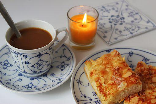 Butter Cake, Northern Germany, East Frisia, Coffee