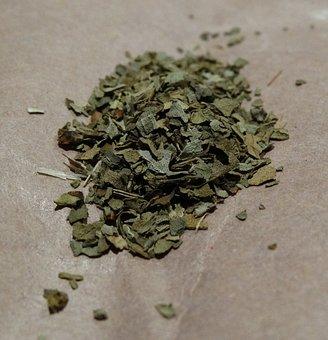 Basil, Herb, Green, Dried
