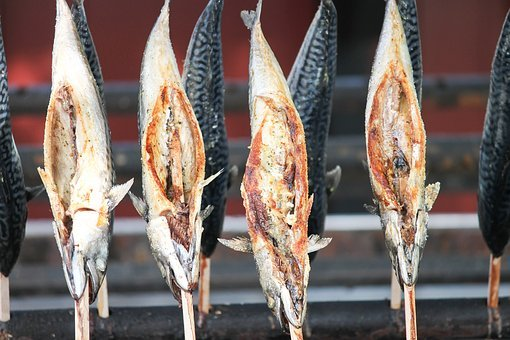Smoked Trout, Trout, Fish, Grill, Grilled, Fried, Spit