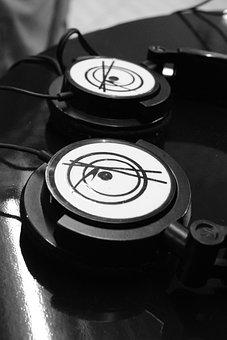 Radio, Earphone, Equipment, Headset, Estudio, Music