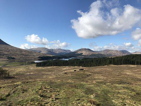 Scotland, Glen Coe, Landscape, Highlands And Islands