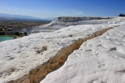 Pamukkale, Nature, Landscape, Turkey, Lime, Limestone