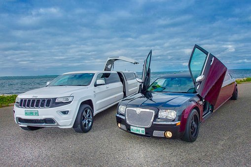 Limo, Chrysler, Bride, Luxury, Car, Business, Married