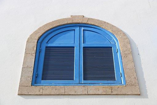 Morocco, Essaouira, Windows, Colourful, Architecture