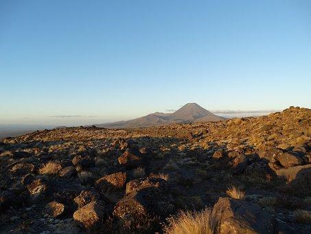 Volcano, New Zealand, Nature, Vacation, Outdoor