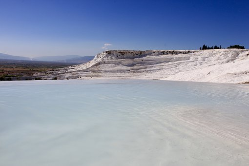 Nature, Lake, Pamukkale, Landscape, Turkey, Tourism