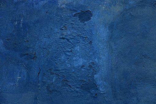 Wall, Blue, Grunge, Ancient, Pattern, Texture, Design