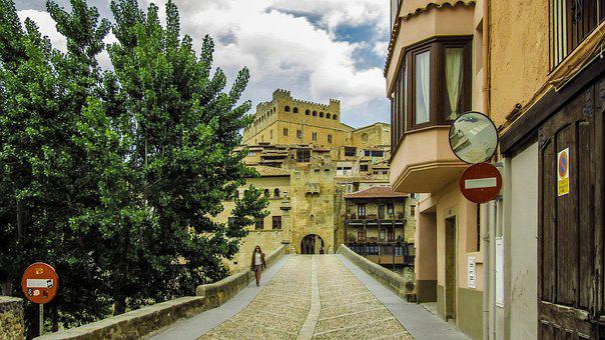 Valderrobres, People, Tourism, Village, Spain, Places