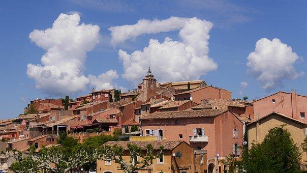 France, Provence, Roussillion, City