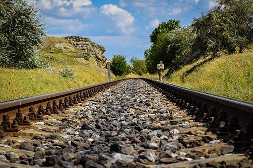 Train, Line, Railroad, Train Station