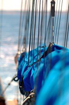 Sailing, Ropes, Sailing Boat, Yacht, Ship, Tall Ship