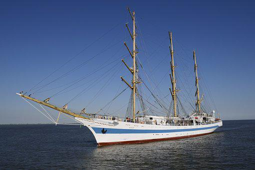 Shipping, Seafaring, Sail Training Ship Mir