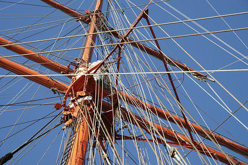 Sail Training Ship Sedov, Sailing Vessel, Shipping