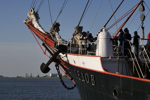Shipping, Ship, Sailing Vessel, Sail Training Ship